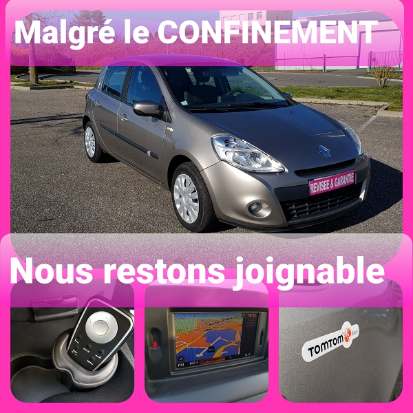 Renault CLIO III 1.5 DCI 70CH TOMTOM 5P Diesel BEIGE  Occasion à vendre