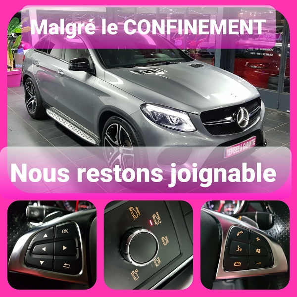 Photo 1 de l'offre de MERCEDES-BENZ GLE COUPE 450 367CH AMG 4MATIC 9G-TRONIC à 59590€ chez L'Automobile - Jérôme BATHIARD