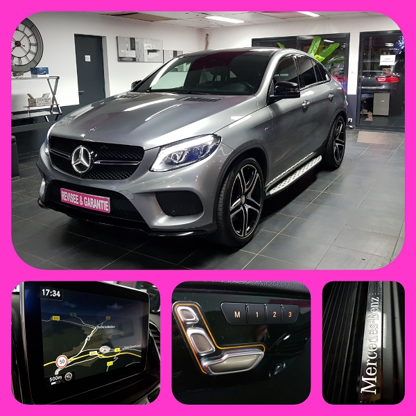 Photo 7 de l'offre de MERCEDES-BENZ GLE COUPE 450 367CH AMG 4MATIC 9G-TRONIC à 59590€ chez L'Automobile - Jérôme BATHIARD