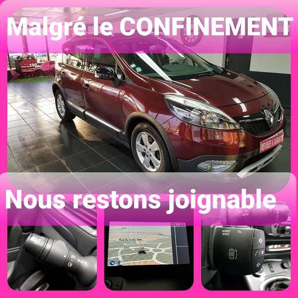 Renault SCENIC III XMOD 1.5 DCI 110CH DYNAMIQUE Diesel ROUGE  Occasion à vendre