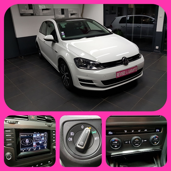 Photo 2 de l'offre de VOLKSWAGEN GOLF VII 2.0 TDI 184CH BLUEMOTION TECHNOLOGY FAP GTD DSG6 5P à 21490€ chez L'Automobile - Jérôme BATHIARD
