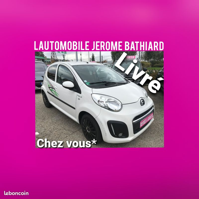 Citroen C1 1.0L i 68cv 5 Portes Airplay Climatisation Bluetooth Radio CD MP3 Essence blanc Occasion à vendre